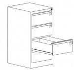 szk 304 4 szuflady