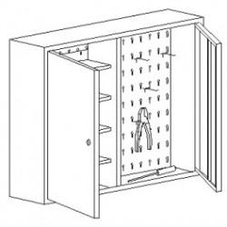 szafki narzędziowe wiszące SZW 080